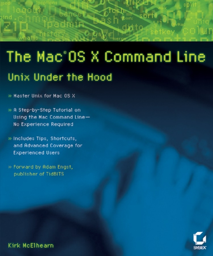 The MacOS X Command Line. Unix Under the Hood