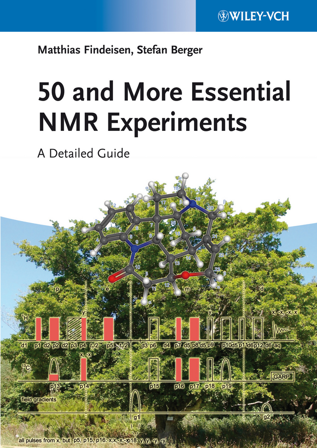 50 and More Essential NMR Experiments. A Detailed Guide