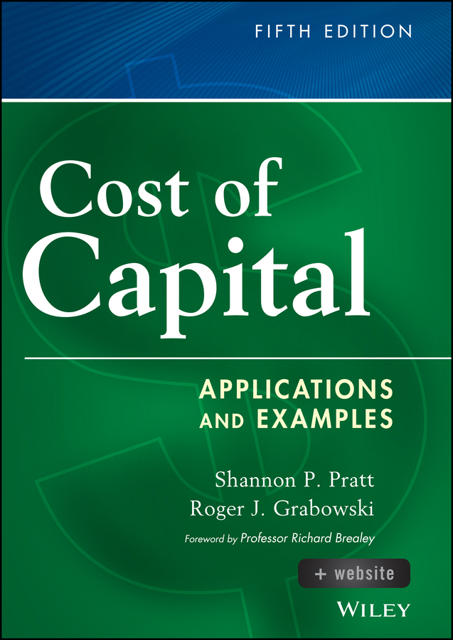 Cost of Capital. Applications and Examples