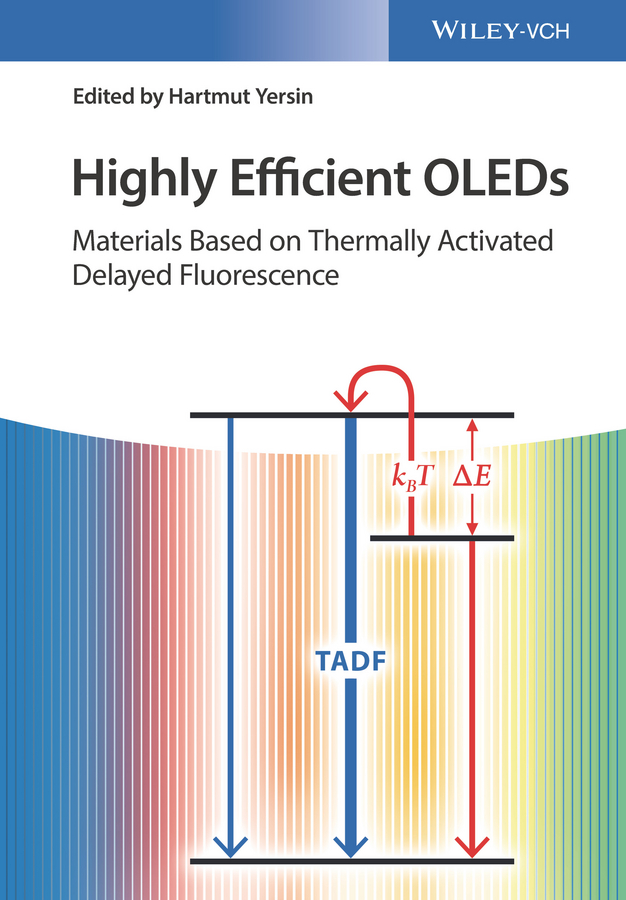 Highly Efficient OLEDs. Materials Based on Thermally Activated Delayed Fluorescence