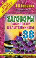 Электронная книга «Заговоры сибирской целительницы. Выпуск 38»