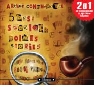 5 best Sherlock Holmes Stories\/ 5 лучших рассказов о Шерлоке Холмсе