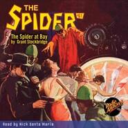 The Spider at Bay - The Spider 61 (Unabridged)