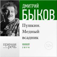 Лекция «Пушкин. Медный всадник» (2016)