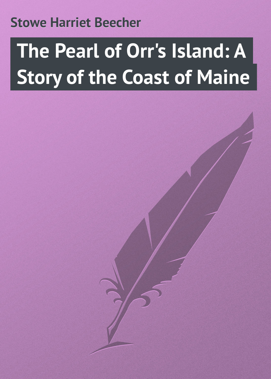 Гарриет Бичер-Стоу The Pearl of Orr's Island: A Story of the Coast of Maine muriel barbier the story of lingerie