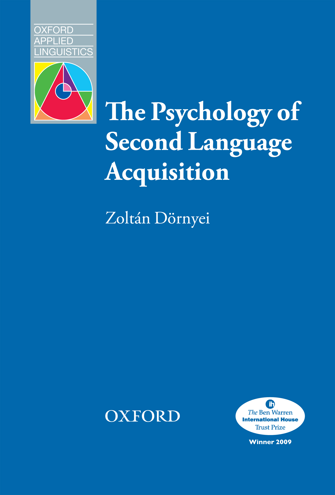 Zoltan Dornyei The Psychology of Second Language Acquisition