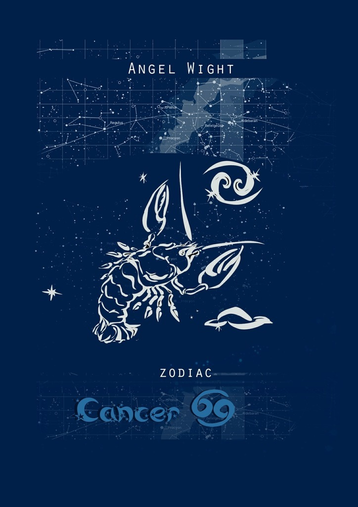 Angel Wight Cancer. Zodiac