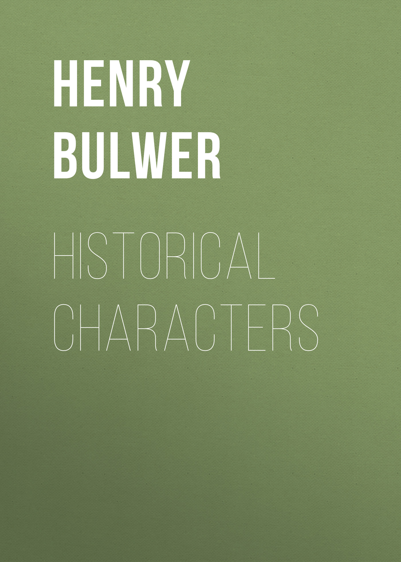 historical characters