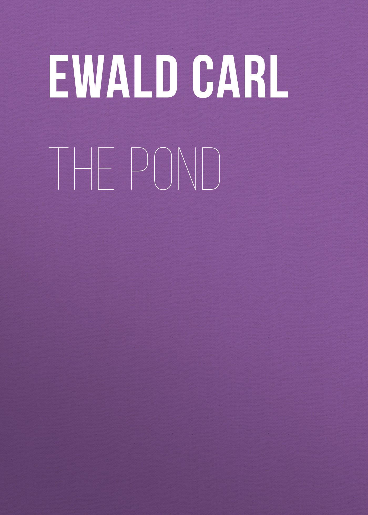 лучшая цена Ewald Carl The Pond