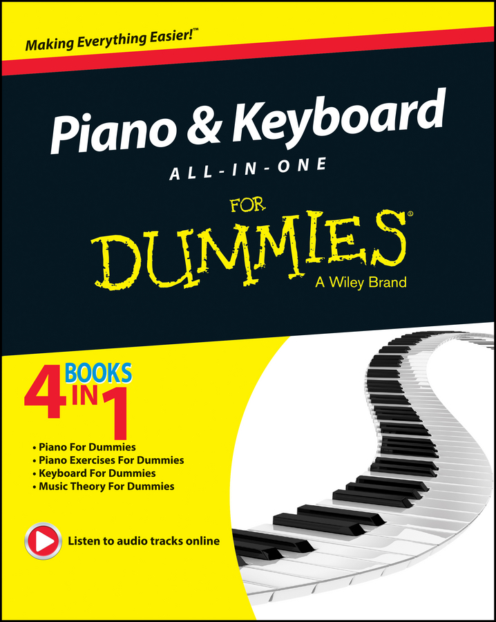 Michael Pilhofer Piano and Keyboard All-in-One For Dummies david pogue classical music for dummies