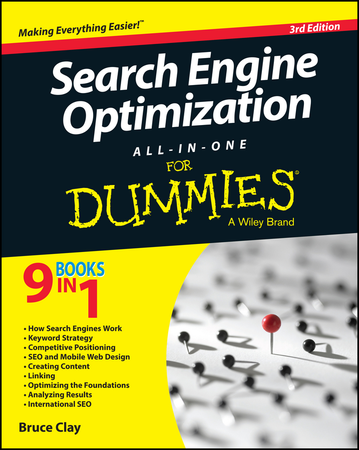 Bruce Clay Search Engine Optimization All-in-One For Dummies donna serdula linkedin profile optimization for dummies