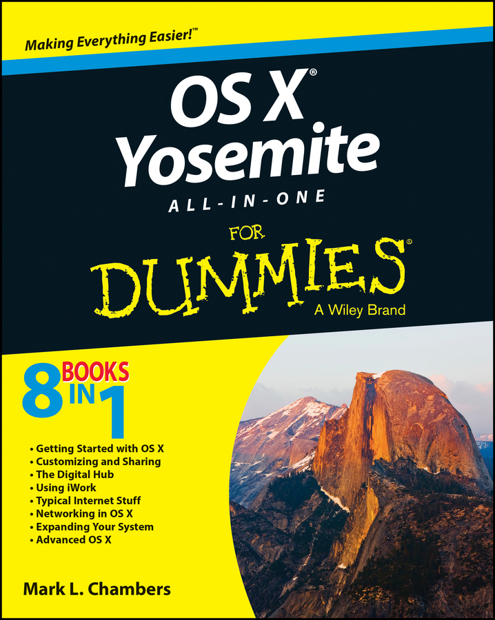 Mark Chambers L. OS X Yosemite All-in-One For Dummies mark chambers l pcs all in one for dummies
