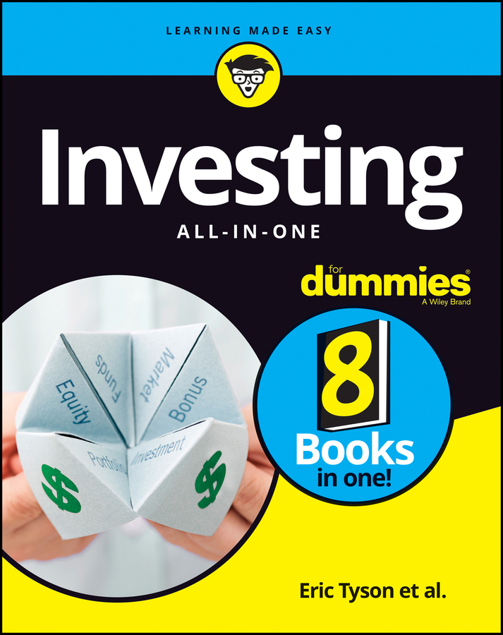 Eric Tyson Investing All-in-One For Dummies потолочная люстра idlamp 234 6pf blackchrome