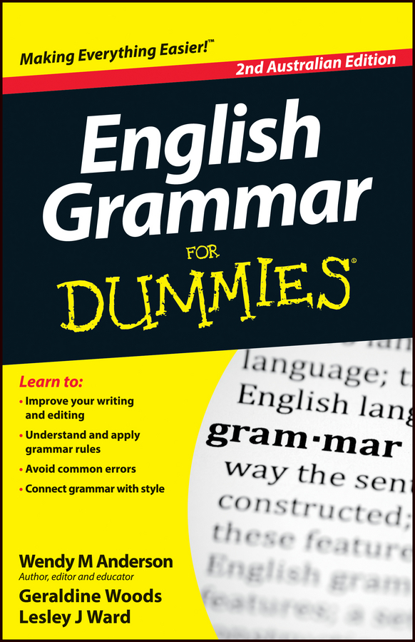 Фото - Geraldine Woods English Grammar For Dummies random house webster s grammar usage and punctuation