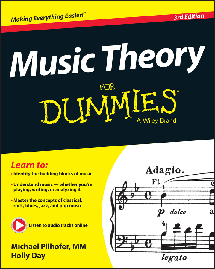 Michael Pilhofer Music Theory For Dummies music and machines
