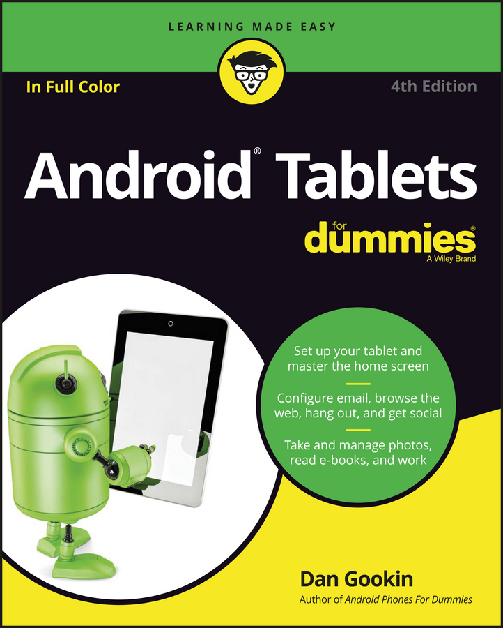 Dan Gookin Android Tablets For Dummies