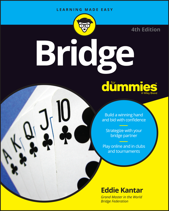 Eddie Kantar Bridge For Dummies married to the game