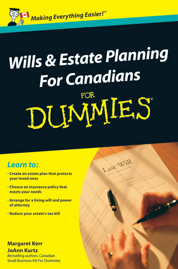 Margaret Kerr Wills and Estate Planning For Canadians For Dummies jordan yin urban planning for dummies