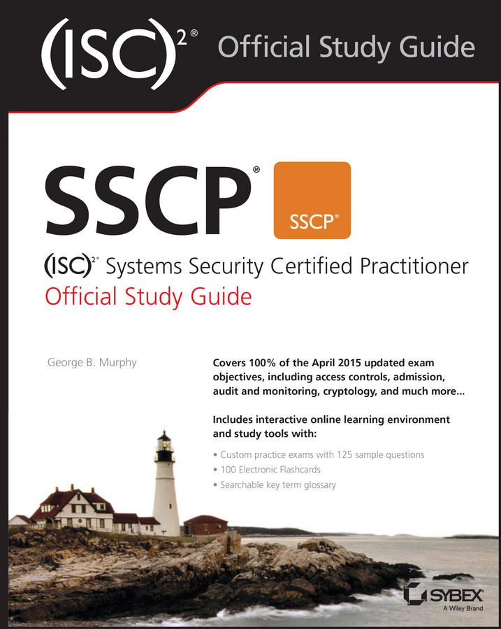 George Murphy SSCP (ISC)2 Systems Security Certified Practitioner Official Study Guide new safurance digital electronic key less keypad security entry door lock reversible handle building automation access control