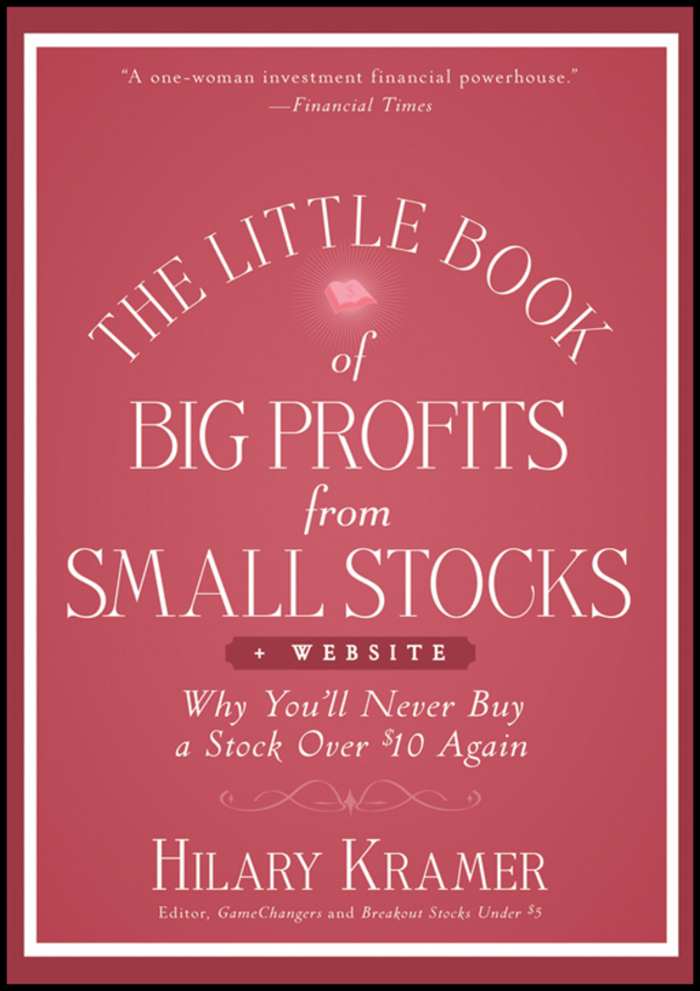 Louis Navellier The Little Book of Big Profits from Small Stocks + Website. Why You'll Never Buy a Stock Over $10 Again new in stock qm400ha h