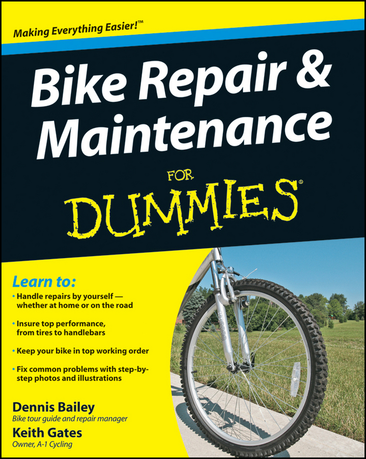 Dennis Bailey Bike Repair and Maintenance For Dummies