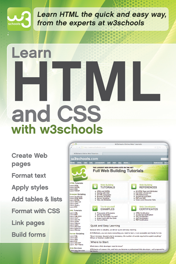 W3Schools Learn HTML and CSS with w3Schools larsen rob beginning html and css