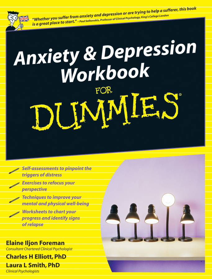 Elaine Iljon Foreman Anxiety and Depression Workbook For Dummies anxiety depression and female sexual dysfunction fsd