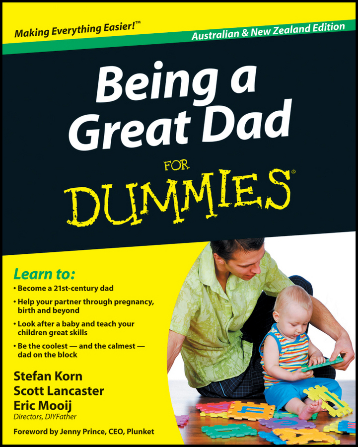 Stefan Korn Being a Great Dad For Dummies dominic bliss being the best man for dummies