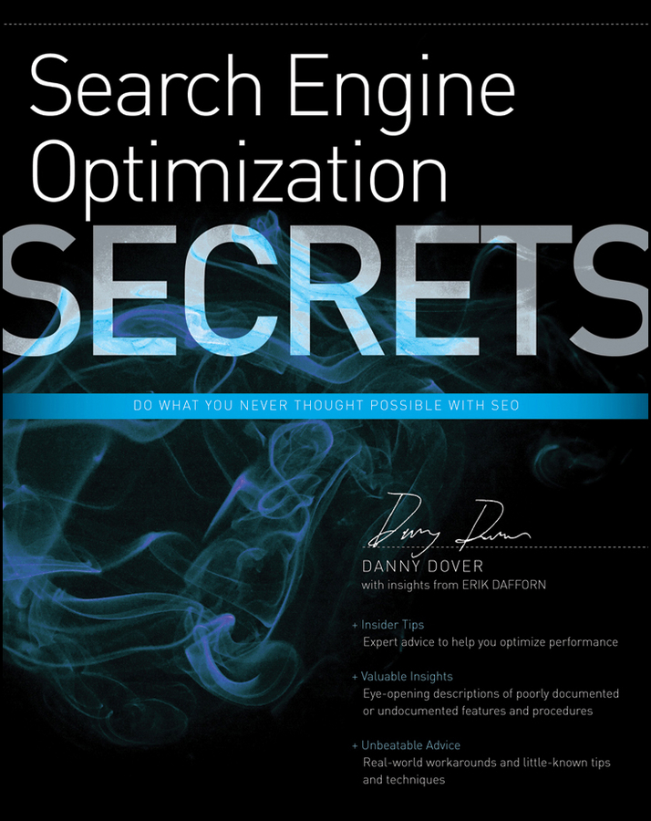 Danny Dover Search Engine Optimization (SEO) Secrets