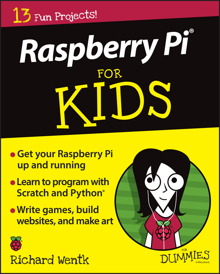 Richard Wentk Raspberry Pi For Kids For Dummies rpi40p b dedicated 40 pin female to female data cable for raspberry pi 22cm