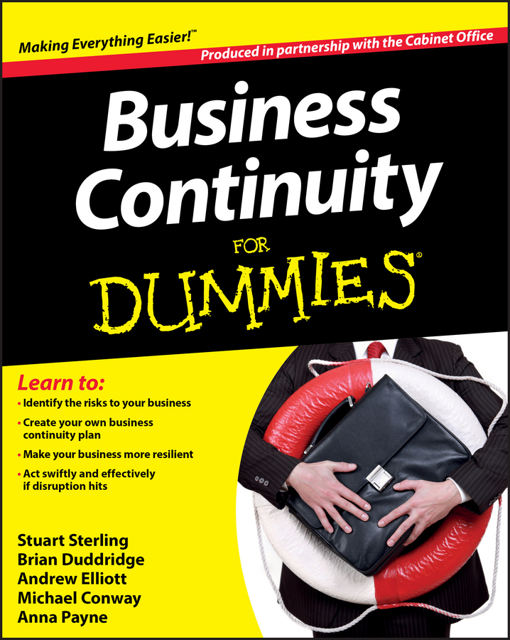 The Office Cabinet Business Continuity For Dummies недорго, оригинальная цена