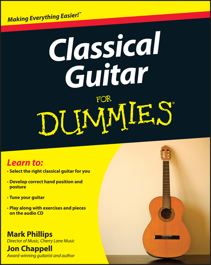 Jon Chappell Classical Guitar For Dummies цена и фото