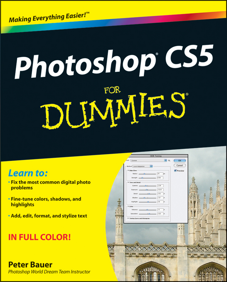 цена на Peter Bauer Photoshop CS5 For Dummies