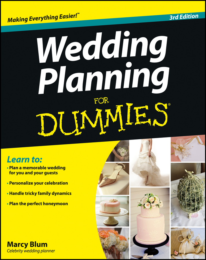 Marcy Blum Wedding Planning For Dummies abby gaines the wedding plan