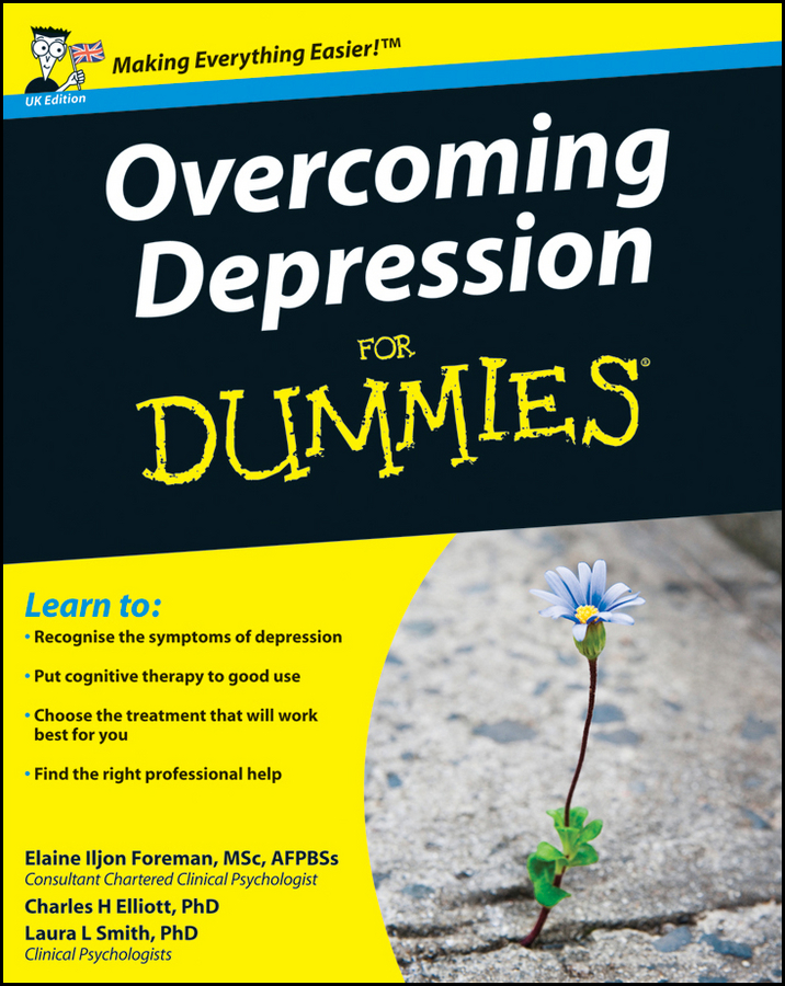 Elaine Iljon Foreman Overcoming Depression For Dummies chupa chups lollipops ice cream flavor 40ct bag fat free