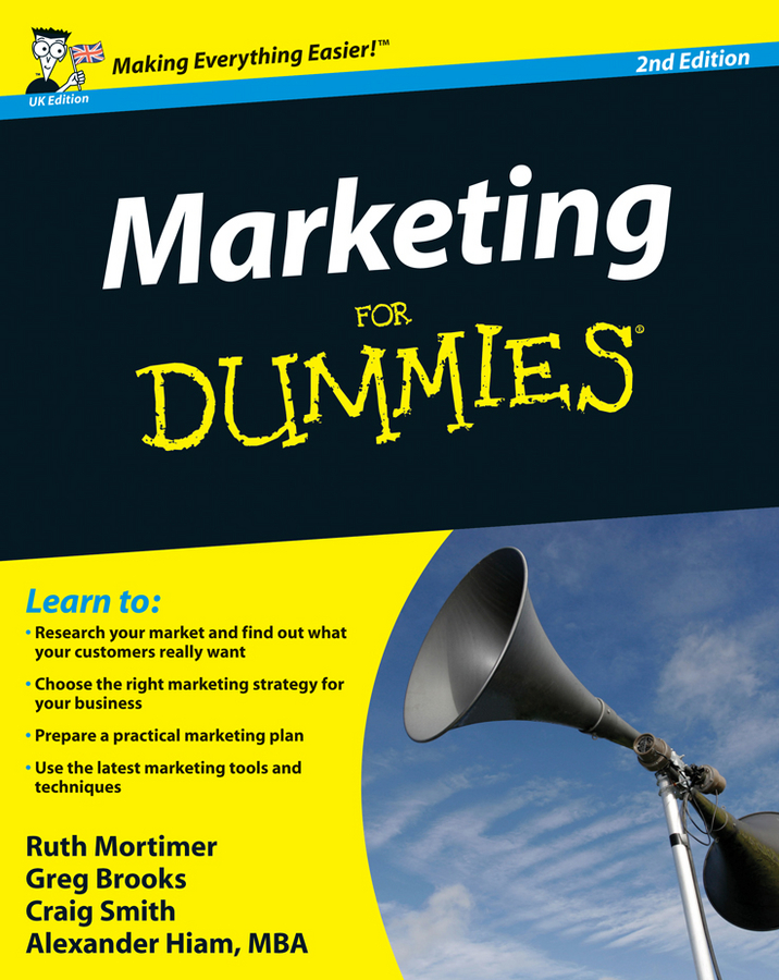 Craig Smith Marketing For Dummies рубашка поло printio bdsm business development sales and marketing