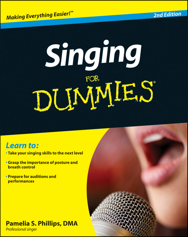 Фото - Pamelia Phillips S. Singing For Dummies the singing