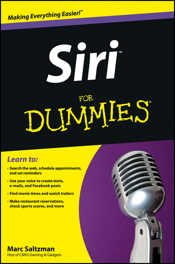 Marc Saltzman Siri For Dummies marc saltzman apple watch for dummies