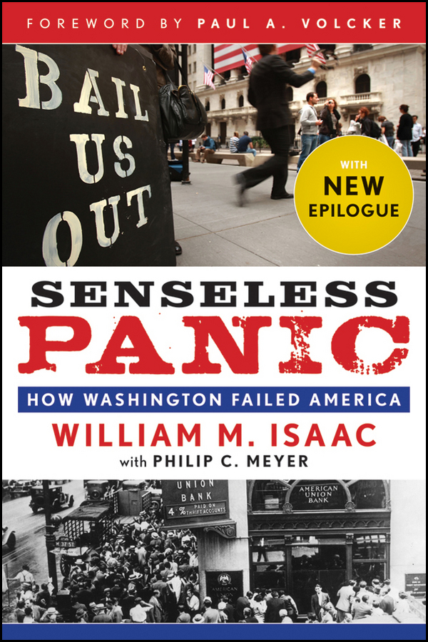 Paul Volcker A. Senseless Panic. How Washington Failed America business and ethics in a country with political socio economic crisis