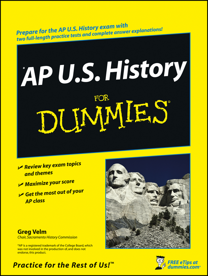 Greg Velm AP U.S. History For Dummies will ferguson canadian history for dummies