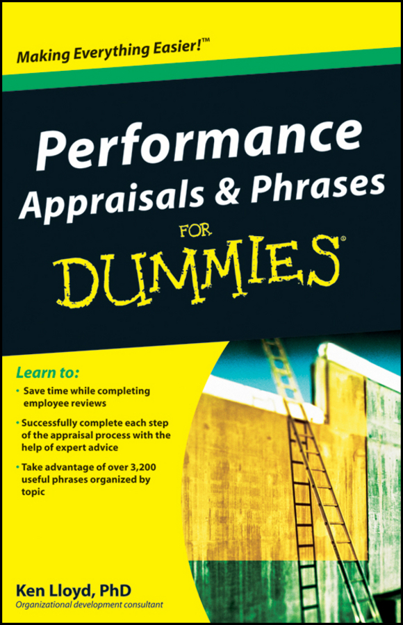 Ken Lloyd Performance Appraisals and Phrases For Dummies optimizing the performance of synchronization process