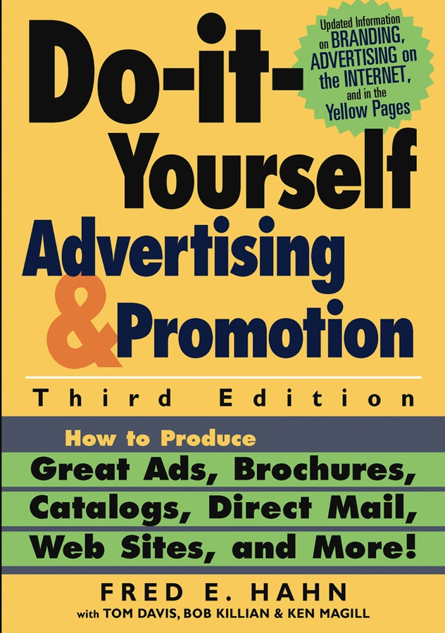 Fred Hahn E. Do-It-Yourself Advertising and Promotion. How to Produce Great Ads, Brochures, Catalogs, Direct Mail, Web Sites, and More! lighted inflatable tree for advertising decoration