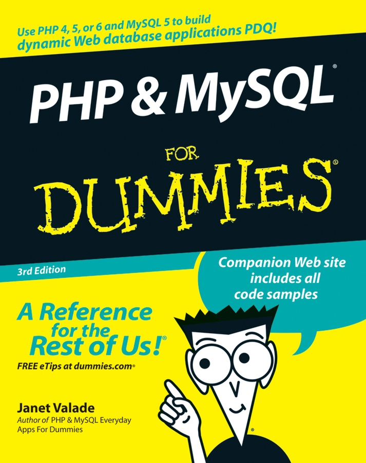 Janet Valade PHP and MySQL For Dummies отвертка шлицевая sl6 38 vettler