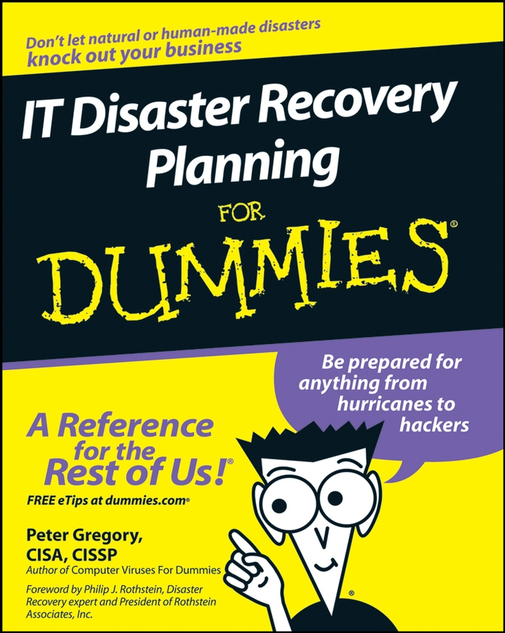 Peter Gregory H. IT Disaster Recovery Planning For Dummies kevin beaver hacking for dummies