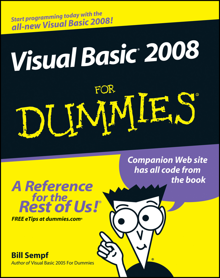 лучшая цена Bill Sempf Visual Basic 2008 For Dummies