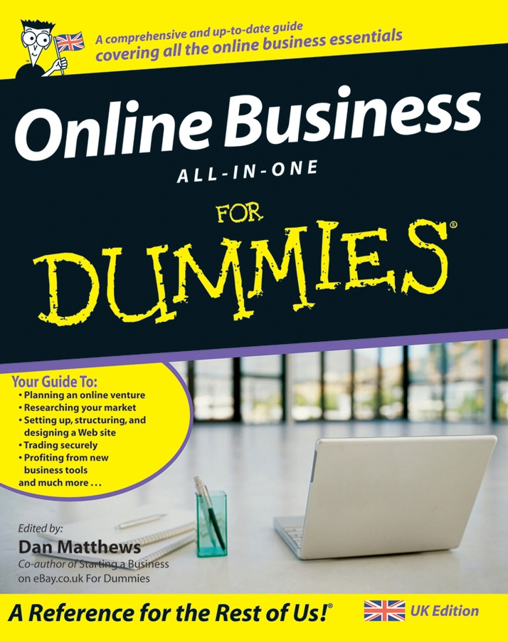 Dan Matthews Online Business All-In-One For Dummies david moore richard designing online learning with flash