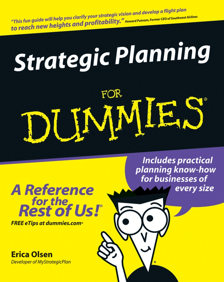Erica Olsen Strategic Planning For Dummies jordan yin urban planning for dummies