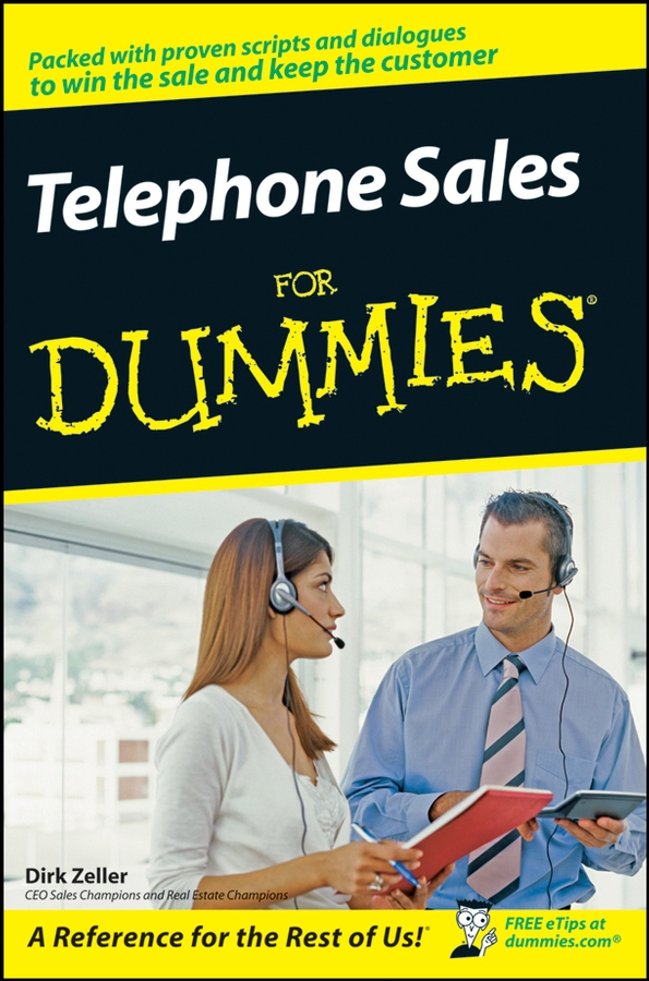 Dirk Zeller Telephone Sales For Dummies