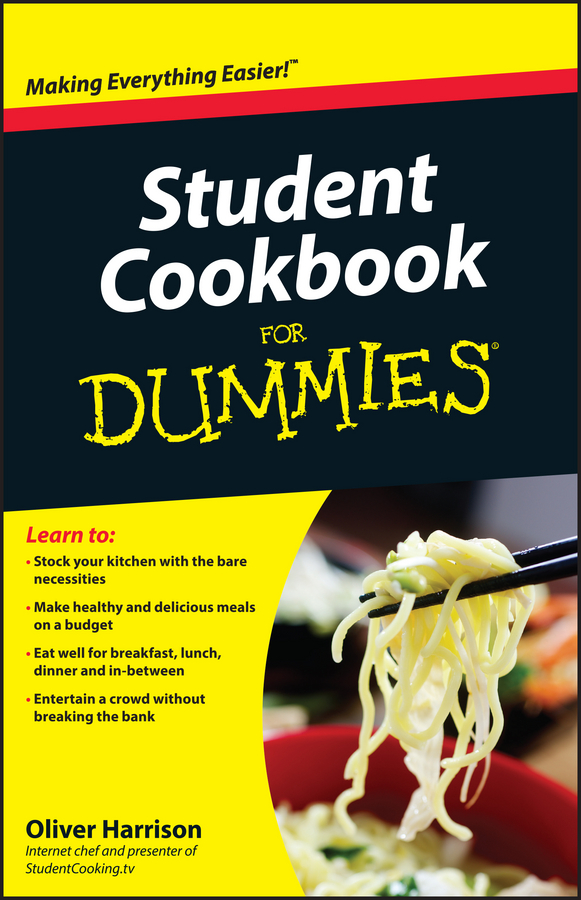 Фото - Oliver Harrison Student Cookbook For Dummies food mixers bosch mum4856eu home kitchen appliances processor machine equipment for the production of making cooking