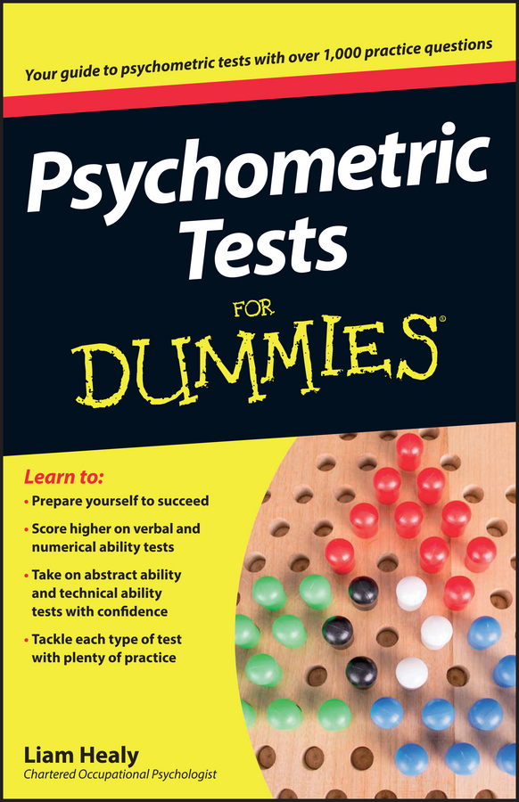 Фото - Liam Healy Psychometric Tests For Dummies gre for dummies with online practice tests